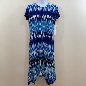 Maggy L Short Sleeve Dress  NEW  Size 8